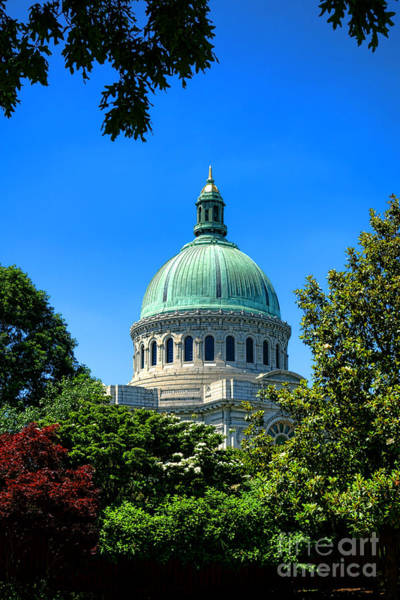 Wall Art - Photograph - United States Naval Academy Chapel by Olivier Le Queinec