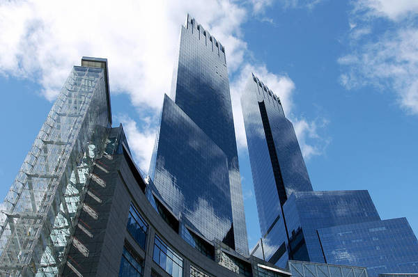 Alfresco Wall Art - Photograph - United States, New York, Skyscrapers by Tips Images