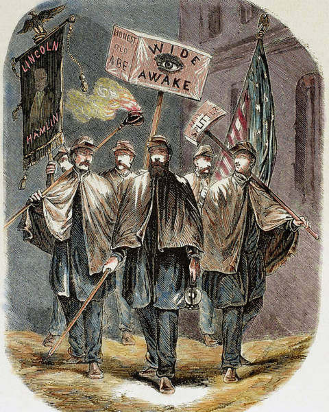 Republican Party Photograph - United States Supporters Of Abraham by Prisma Archivo