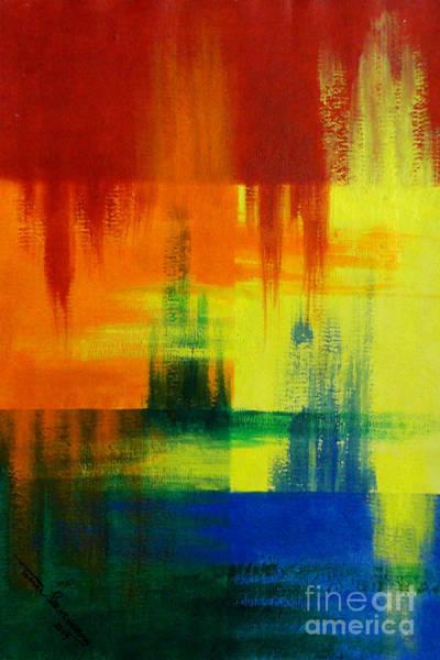 Painting - Distance by Tamal Sen Sharma