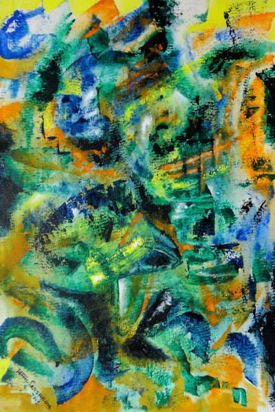 Painting - Virtual by Tamal Sen Sharma