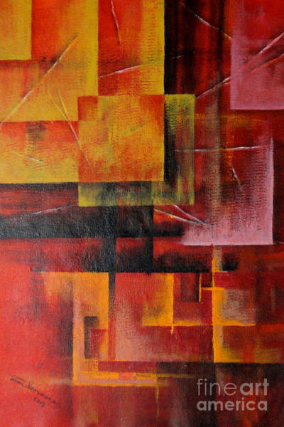 Painting - Layer by Tamal Sen Sharma