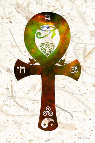 Painting - Unity 11 - Spiritual Artwork by Sharon Cummings