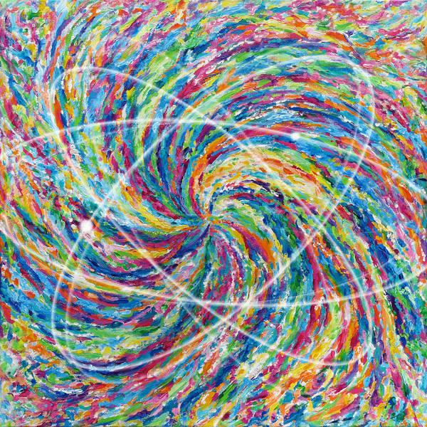 Essence Digital Art - Universal Life Force 02 by Julie Turner