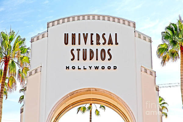 Photograph - Universal Studios Hollywood California 5d28506 by Wingsdomain Art and Photography