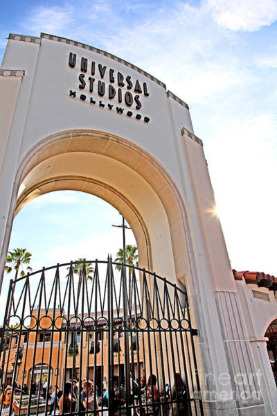 Photograph - Universal Studios Hollywood California 5d28509 by Wingsdomain Art and Photography