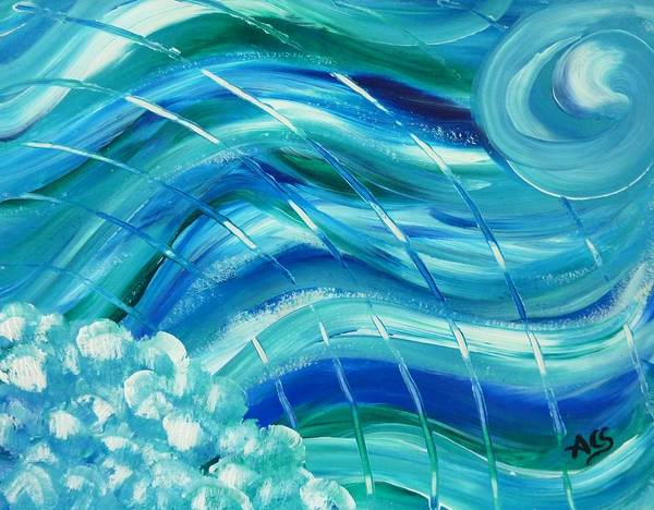 Painting - Universal Waves by Amelie Simmons