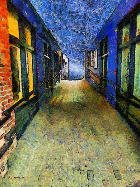 Painting - Universe Alley by RC DeWinter