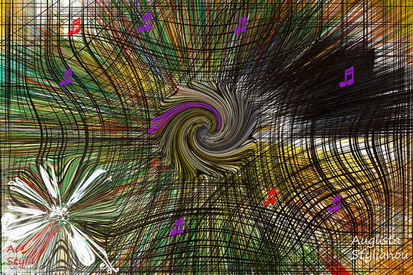 Digital Art - Universe Grid by Augusta Stylianou