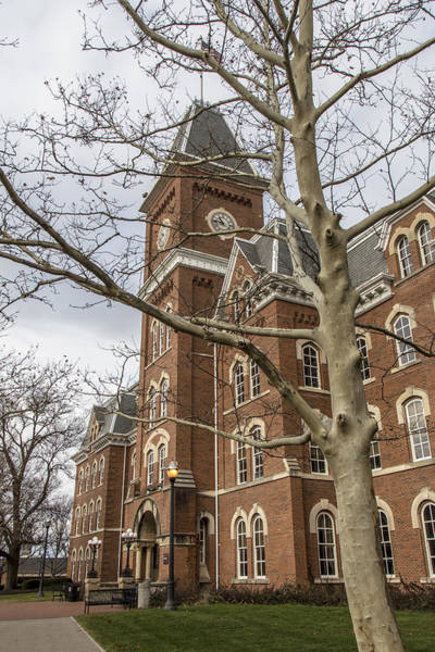Ohio State University Photograph - University Hall In Color Osu by John McGraw