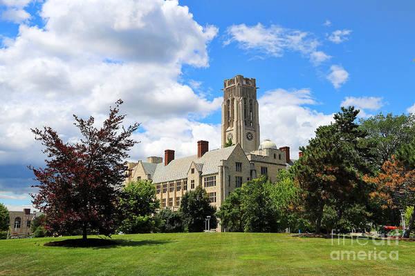 Mac Photograph - University Hall University Of Toledo 1589 by Jack Schultz