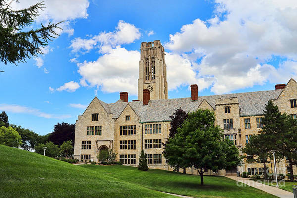 Mac Photograph - University Hall University Of Toledo 1604 by Jack Schultz