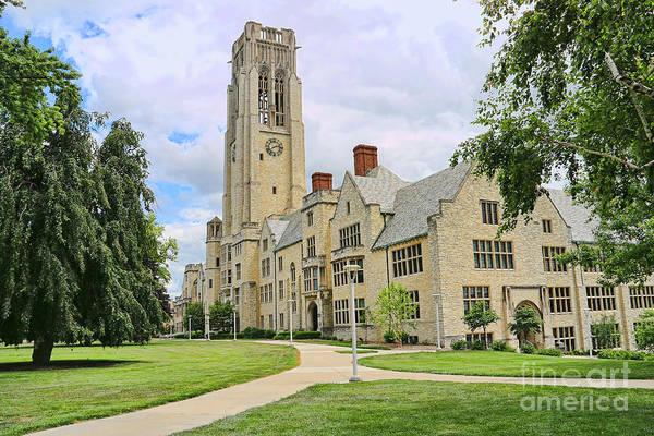 Mac Photograph - University Hall University Of Toledo  1611 by Jack Schultz