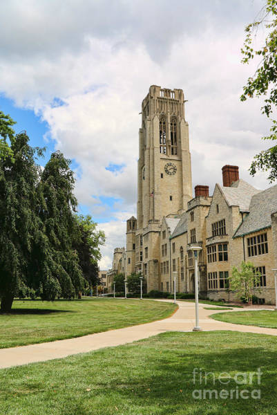 Mac Photograph - University Hall University Of Toledo 1612 by Jack Schultz