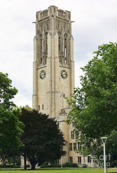 Mac Photograph - University Hall University Of Toledo 1615 by Jack Schultz
