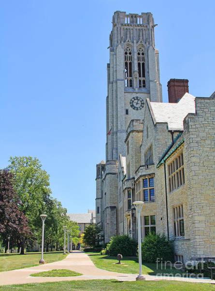 Mac Photograph - University Hall University Of Toledo 2208 by Jack Schultz
