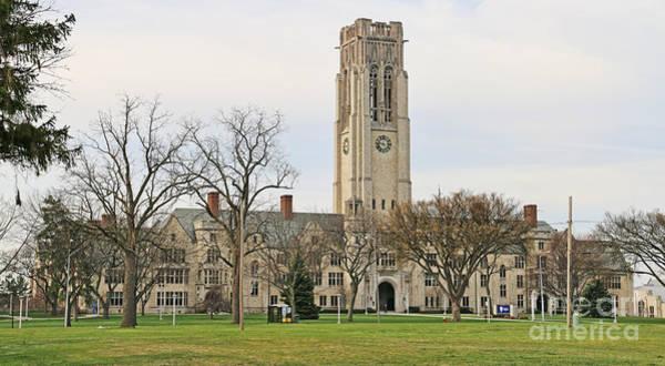 Mac Photograph - University Hall University Of Toledo 5038 by Jack Schultz
