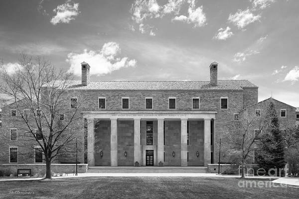 Photograph - University Of Colorado Norlin Library  by University Icons