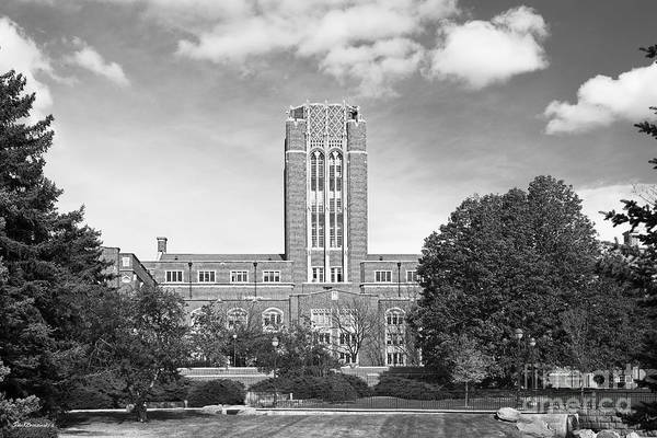 Photograph - University Of Denver Mary Reed Building by University Icons