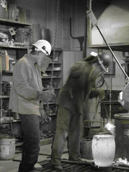 Photograph - Welding 1 by Cleaster Cotton