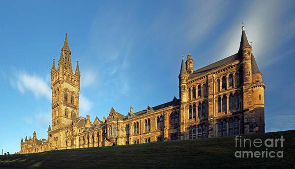 Photograph - University Of Glasgow by Maria Gaellman