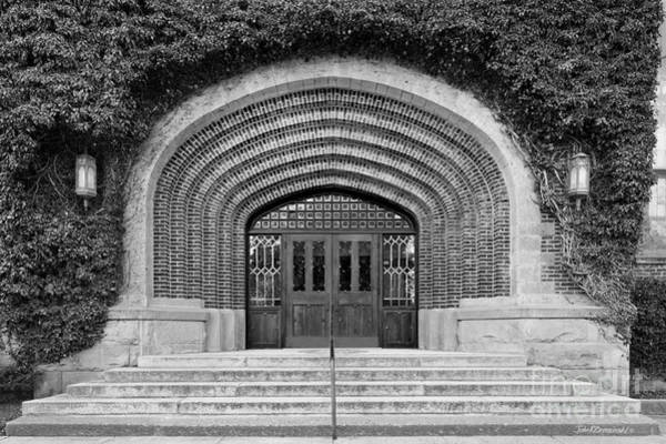 Photograph - University Of Idaho Administration Building Detail by University Icons