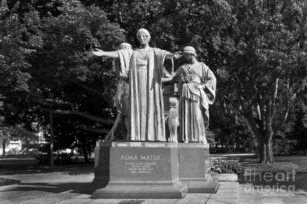 Photograph - University Of Illinois Alma Mater by University Icons