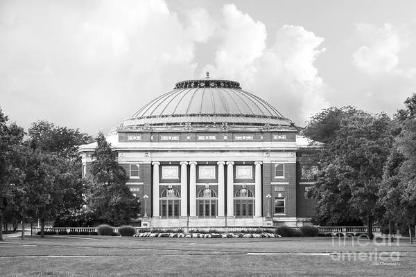 Photograph - University Of Illinois Foellinger Auditorium by University Icons