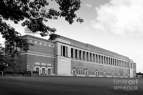 Photograph - University Of Illinois Memorial Stadium by University Icons
