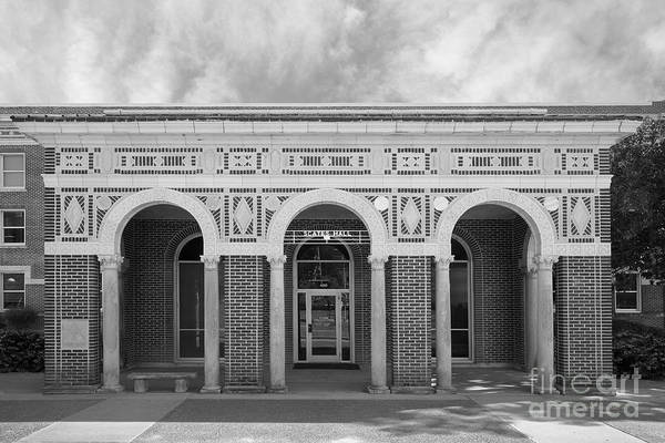 Photograph - University Of Memphis Scates Hall by University Icons