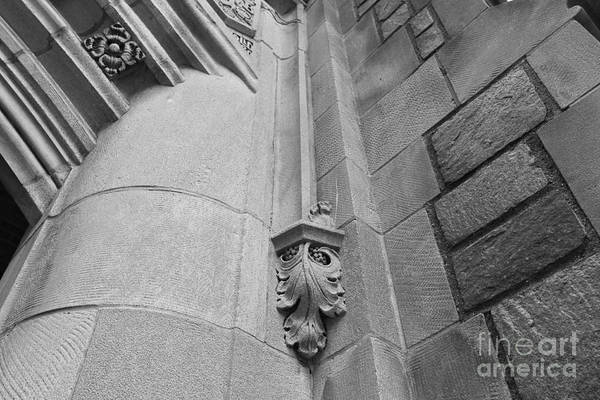 Arbor Photograph - University Of Michigan Law Library Detail by University Icons