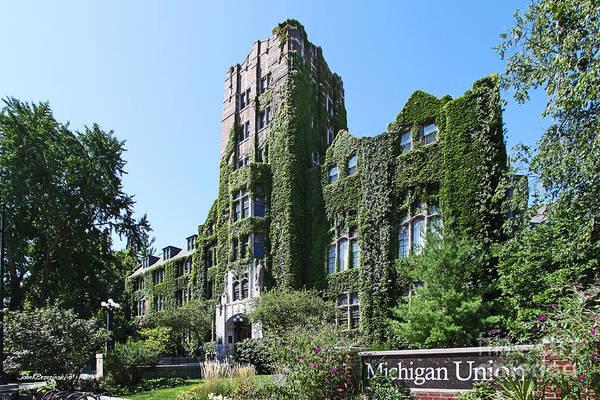 Photograph - University Of Michigan Union by University Icons