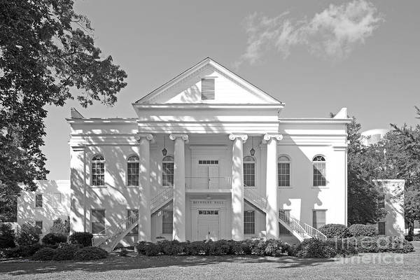 Photograph - University Of Montevallo Reynolds Hall by University Icons
