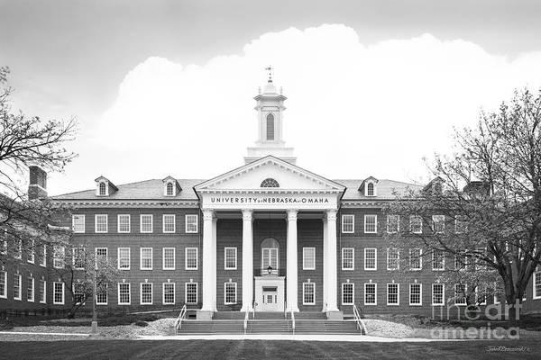 Photograph - University Of Nebraska Omaha Arts And Science Hall by University Icons