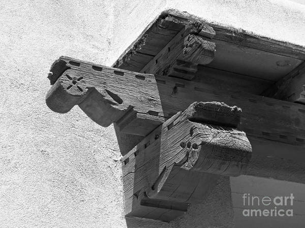 Photograph - University Of New Mexico Decorative Detail by University Icons
