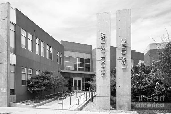 Photograph - University Of New Mexico School Of Law by University Icons