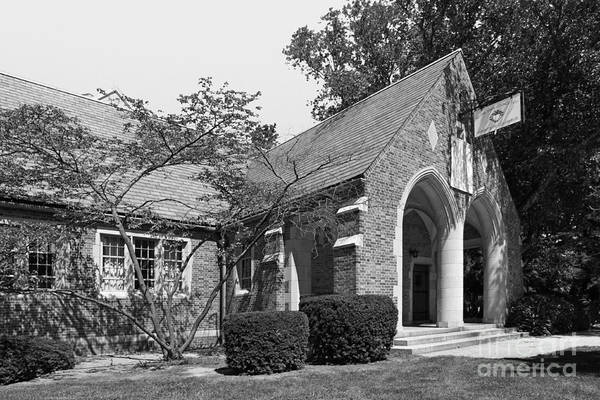 Photograph - University Of Notre Dame Knights Of Columbus Council Hall by University Icons