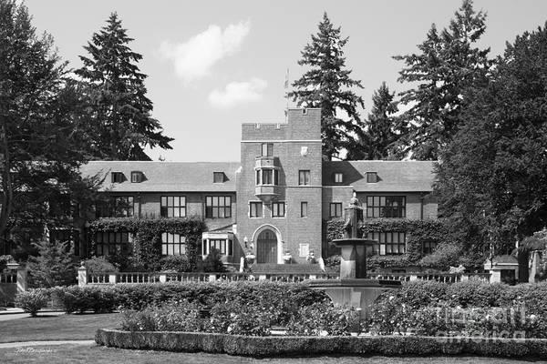 Photograph - University Of Puget Sound Jones Hall by University Icons