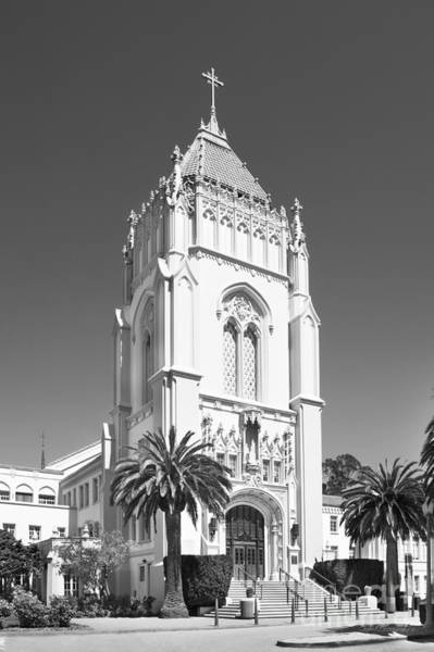Photograph - University Of San Francisco Lone Mountain Tower by University Icons