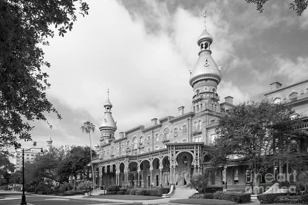 Photograph - University Of Tampa Plant Hall by University Icons