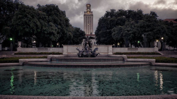 Photograph - University Of Texas Icons by Joan Carroll