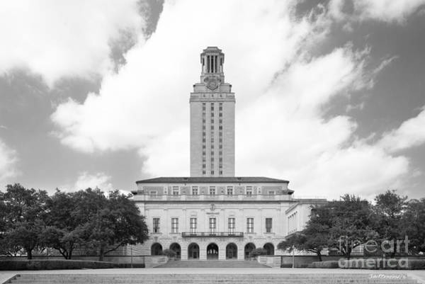 Photograph - University Of Texas Main Building  by University Icons