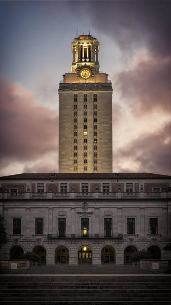 Photograph - University Of Texas Tower by Joan Carroll