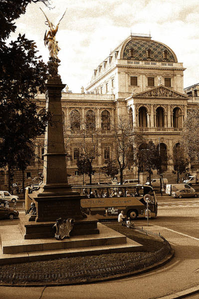 Photograph - University Of Vienna by Menega Sabidussi