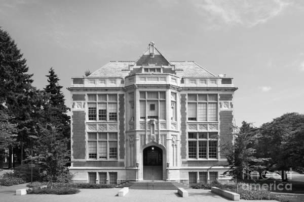 Photograph - University Of Washington Raitt Hall by University Icons