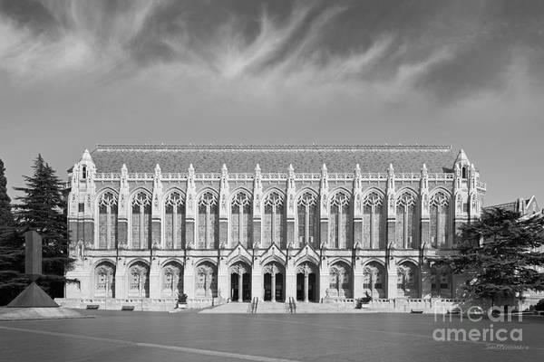 Photograph - University Of Washington Suzzallo Library by University Icons