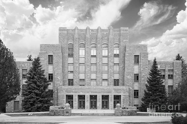 Photograph - University Of Wyoming Arts And Sciences by University Icons