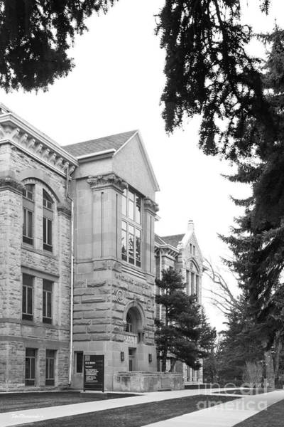 Photograph - University Of Wyoming Old Main by University Icons