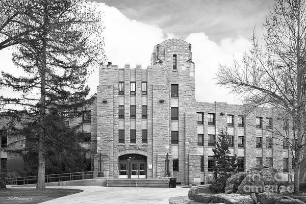 Photograph - University Of Wyoming Union by University Icons