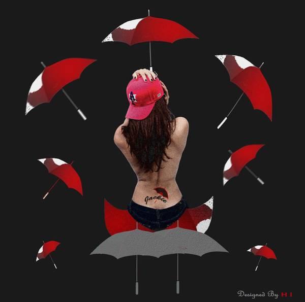 Tats Painting - Unjackie by HI Designs Amor Blu Group LLC